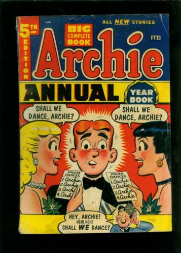 Archie Annual 5 VG- 3.5