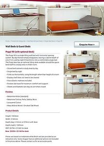 Single Tilting Wall Bed - Poppi 90 Bli Bli Maroochydore Area Preview