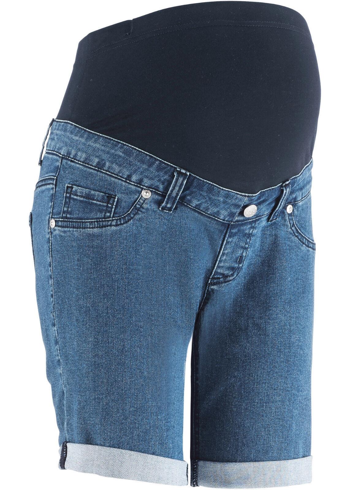 Jeansshorts für Schwangere Gr.34