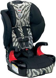 Britax-Frontier-90-Booster-Car-Seat-in-Zebra-Brand-New