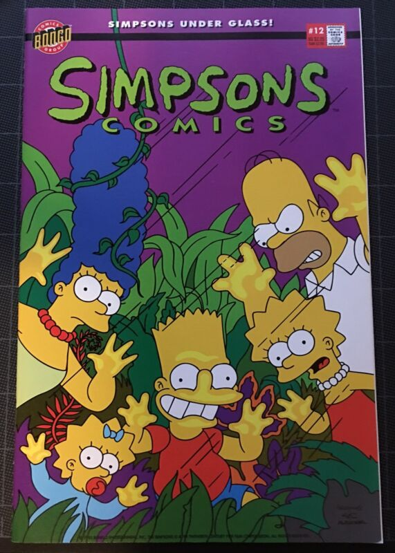 SIMPSONS COMICS #12~BART/HOMER/MARGE/LISA~MATT GROENING~BONGO~NM