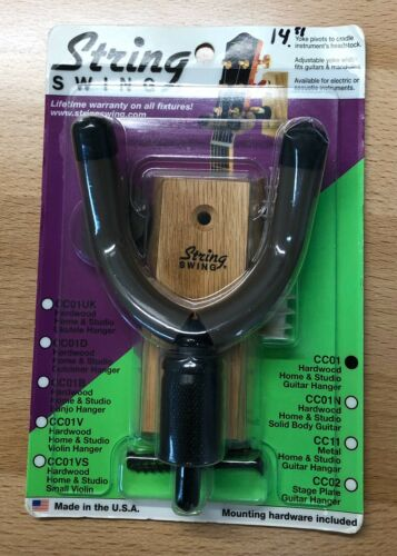 Brand New String Swing Hardwood Home Studio Guitar Keeper CC01  - $5.99