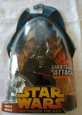 Star Wars Revenge The Sith Darth Vader Lightsaber Attack 2005 HF390