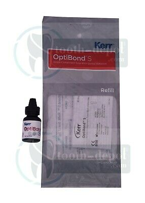 Kerr Optibond S Solo Single Component Total Etch Dental Adhesive Bond 6 Ml 34614