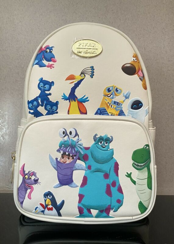 Disney Pixar Mini Backpack Monster Inc  UP Toy Story NWT Her Universe