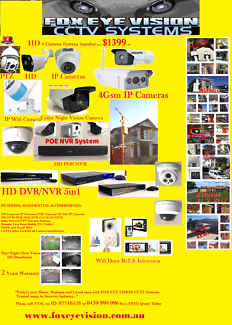 CCTV Camera Security System HD Full Package 8/16/24/32 CH
