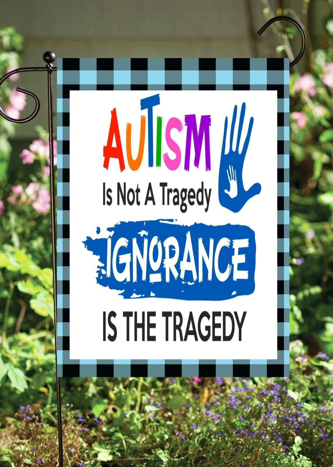 autism not a tragedy double sided soft