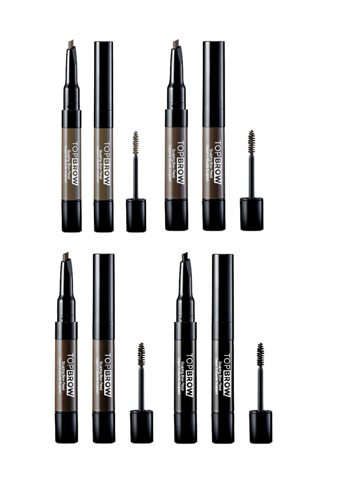 KISS NY Professional Eyebrow Sculpting Brow Pencil Mascara