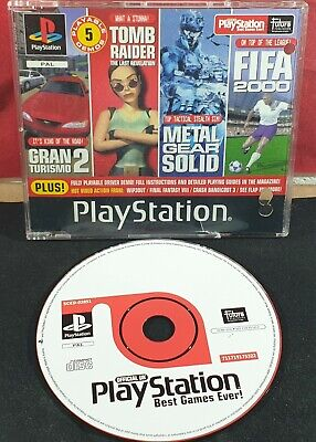 Sony Playstation 1 Magazine Best Ever Games Demo Disc (Best Playstation 1 Games Ever)