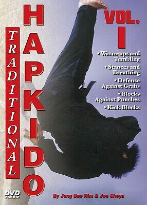 Traditional Hapkido #1 Basics Defenses Blocks DVD GM Jong Bae Rim korean karate