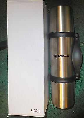 New Zippo  3 In 1 Thermo Vacuum Flask 24Oz 7550 56 Sl Dte Energy Logo Thermos