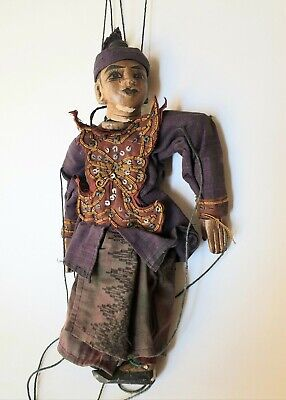 Pretty Puppet Antique India Early 20th