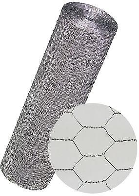 Kaninchendraht verzinkt Masche: 13 mm  Höhe: 50 cm Länge: 25 m Maschendrahtzaun