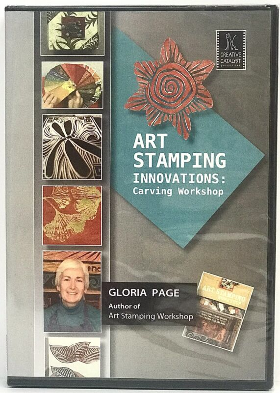 Art Stamping Innovations: Carving Workshop with Gloria Page - Art Education DVD