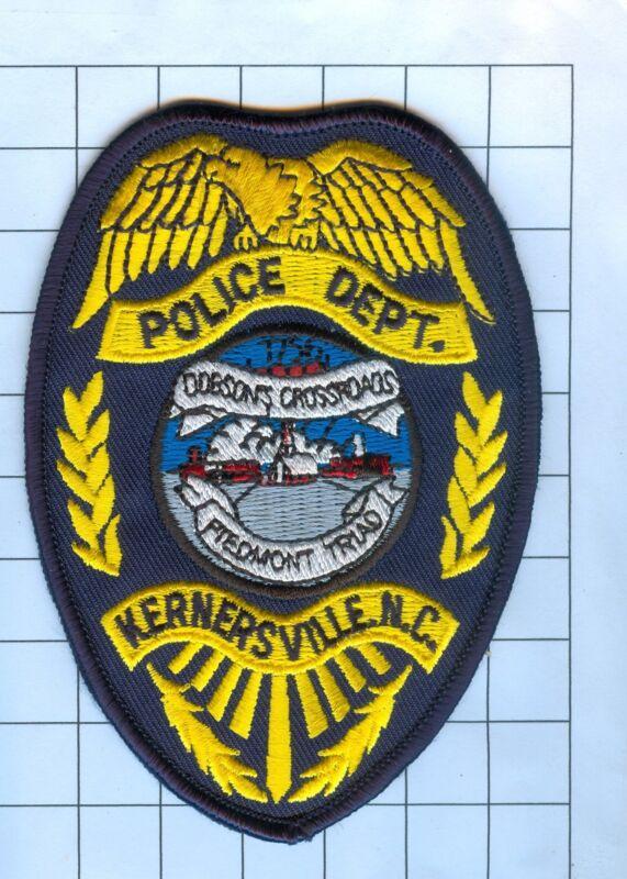 Police Patch  - North Carolina - Kernersville