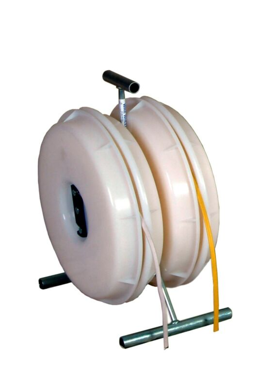 Wire Wheel electrical wire dispenser - romex spinner - wire caddy- stud reeler