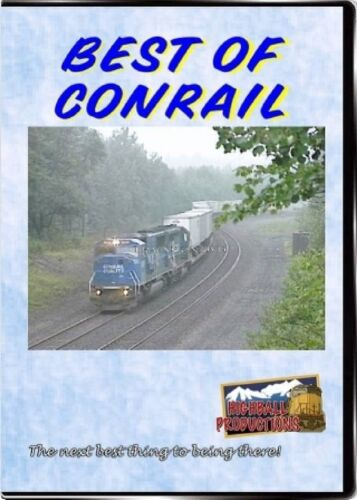 BEST OF CONRAIL HIGHBALL PRODUCTIONS NEW DVD VIDEO