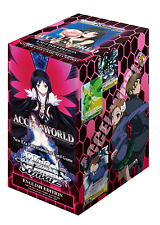 Accel World Sealed Booster Box Weiss Schwarz English Edition