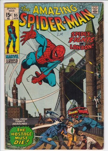 Amazing Spider-Man # 95 VG/FN (5.0) Marvel. OW pages