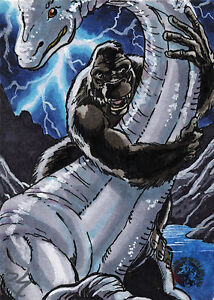 5FINITY JAM 2011 KING KONG SKETCH CARD BY RICH STAHNKE