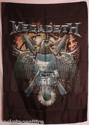 Megadeth Eagle Cloth Poster Flag Fabric Textile Tapestry Wall Banner-New!