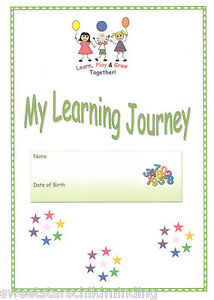 *NEW EYFS 2012* MY LEARNING JOURNEY* childminder, pre school, childminding