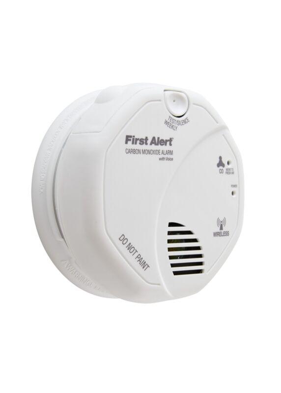 First Alert CO511B Wireless Interconnected Carbon Monoxide Alarm w/ Voice & Loc.