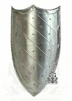 READY FOR BATTLE Medieval Beautiful Layered Steel Shield Medieval Battle (Medieval Battle Armor)