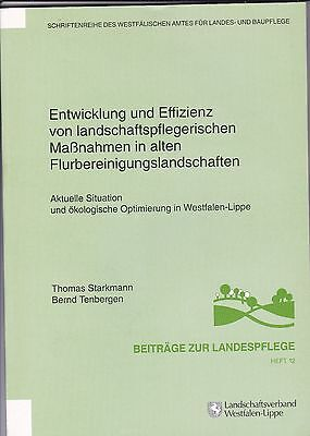 Beiträge zur Landespflege 12. Landschaftsverband Westfalen-Lippe.  Erstbesitz.