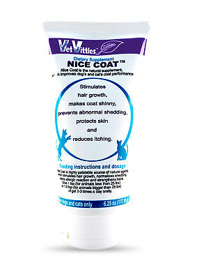 VetVittles NICE COAT 100% Natural Herbal Skin & Coat Supplement for Cats & Dogs