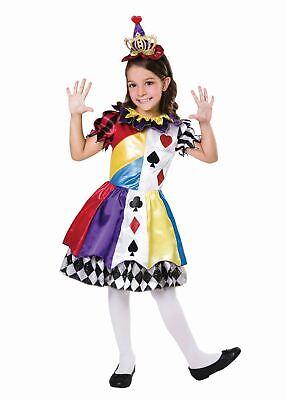 Girls Clown Princess Costume Kids Circus Fancy Dress Outfit School Book Week](Girls Clown Outfit)