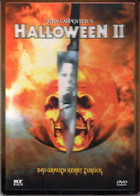 Halloween 2 , 3D-Holocover Ultrasteelbook , uncut , NEW , Jamie Lee Curtis (Halloween 2 1981 Uncut Dvd)