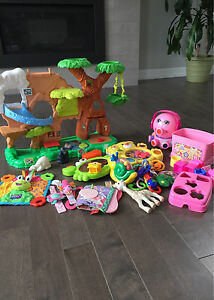 HUGE lot of baby and toddler toys!