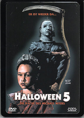 Halloween 5 , The Revenge of Michael Myers , 3D-Holocover Metalpak , uncut , NEW - Halloween 3d Michael Myers