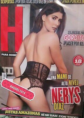 Revista H  Nerys Diaz May Mayo 2018 H Para Hombres Mexican Magazine New