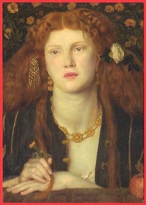 Bocca Baciata By Rossetti - Postcard/Art Print - Victoria & Albert Museum (V&A)