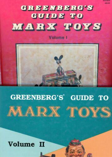 Vintage Marx Tin Toys 1923-1950 / Models Dates Values / Scarce In-Depth Book