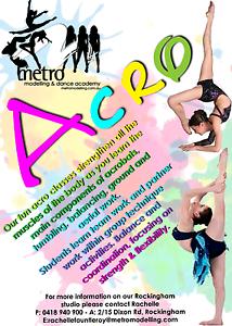 Acrobatics & Dance classes Rockingham 3yrs+ Rockingham Rockingham Area Preview