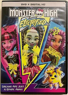 Buy Monster High (MONSTER HIGH ELECTRIFIED DVD FREE WORLD WIDE SHIPPING KIDS GIRLS FAMILY FUN)
