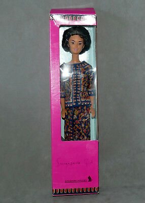 Barbie 1990S Singapore Airlines Box 2Nd Version Pink Box Pale Pink Lips
