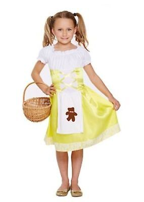 le World Book Day Fancy Dress Up Costume Ages 4 - 12 yrs (Goldilocks Dress Up)