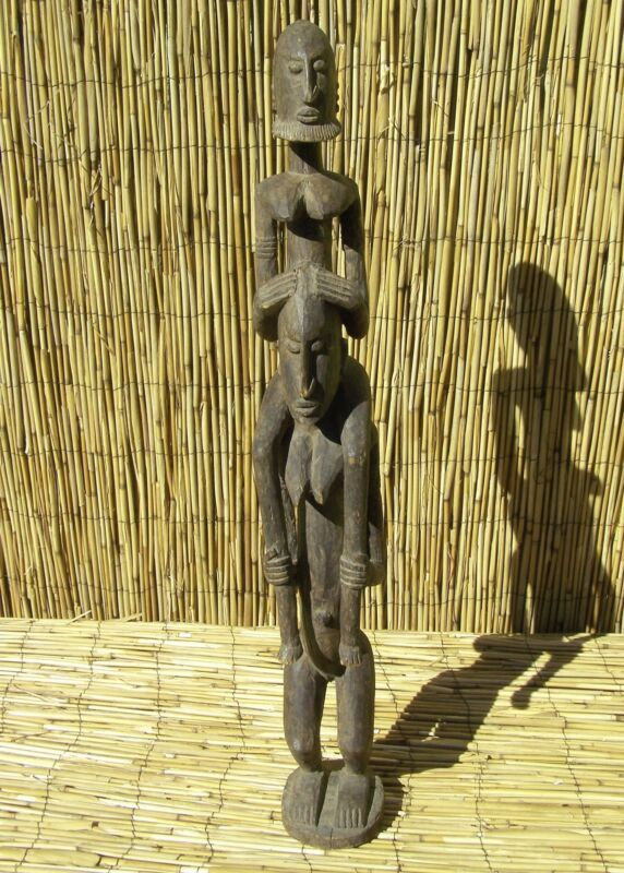 """African Dogon Figures  From Mali 31 """" Tall"""