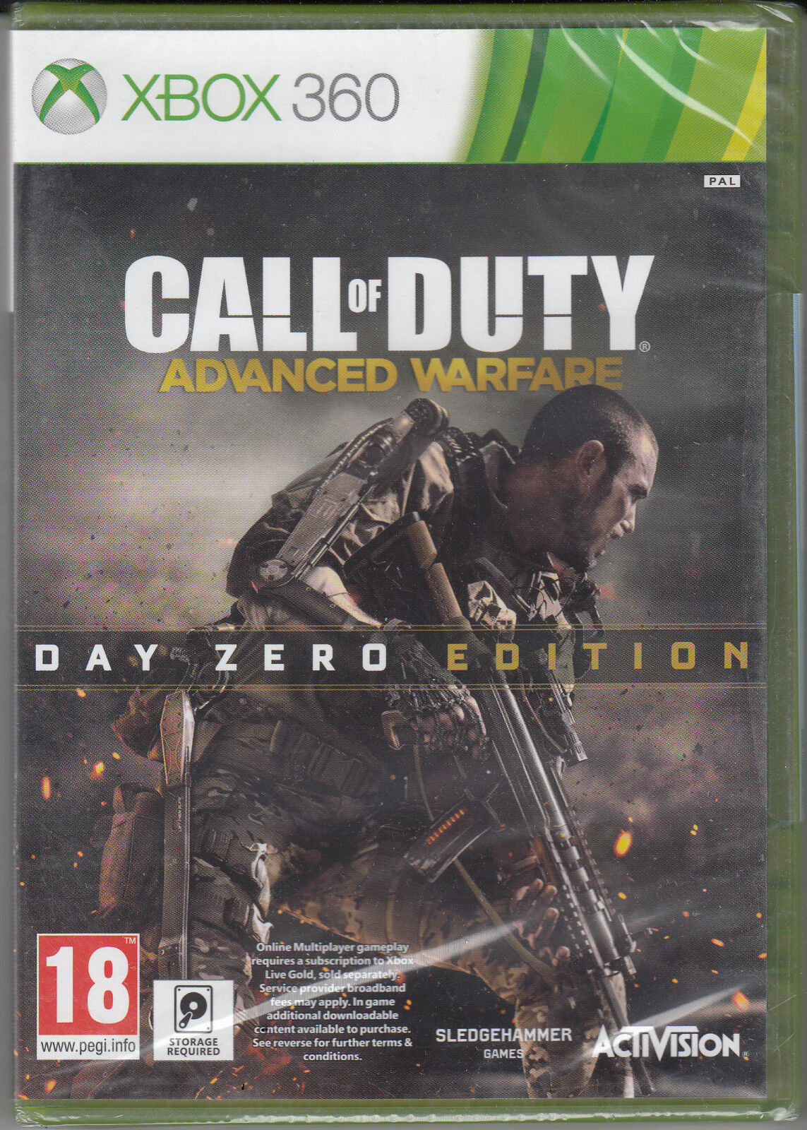 Xbox 360 Games - Call of Duty Advanced Warfare Day Zero Edition Xbox 360 Brand New Factory Sealed
