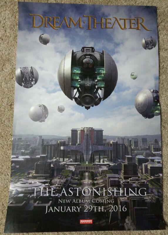 Dream Theater Rare The Astonishing 11x17 Promo Poster 2016