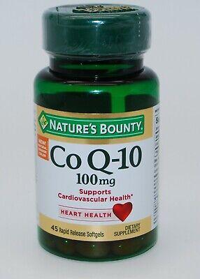 Nature's Bounty Q-Sorb Co Q-10 100 mg Softgels 45 ea