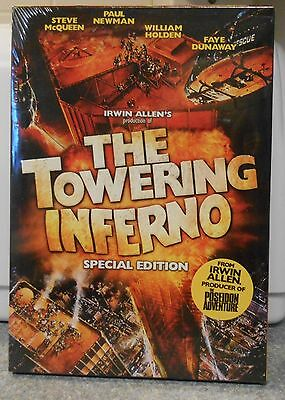 The Towering Inferno (DVD 2006 2-Disc Special Edt) RARE 1974 ACTION THRILLER NEW