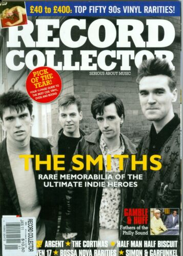 The Smiths Morrissey Record Collector Magazine #394 january 2012