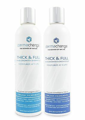 Organic Vegan Natural Hair Growth Shampoo and Conditioner Se