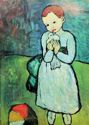 Pablo Picasso Lithograph The Girl With The Dove 1964 for sale  Victoria
