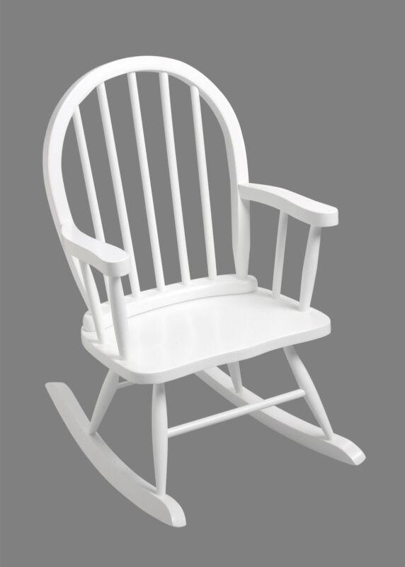 Gift Mark Windsor Childrens 3600 Rocking Chair - White